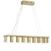 Quoizel PCND141SKG Brendel LED 41 inch Silken Gold Island Chandelier Ceiling Light