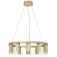 Quoizel PCND2824SKG Brendel LED 24 inch Silken Gold Pendant Ceiling Light