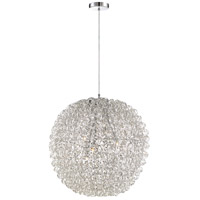 Quoizel PCPG2824C Platinum Pageant 6 Light 24 inch Polished Chrome Foyer Pendant Ceiling Light