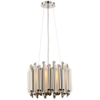 Platinum Pipeline 5 Light 16 inch Polished Nickel Pendant Ceiling Light