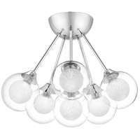 Quoizel PCSB1716C Spellbound 6 Light 16 inch Polished Chrome Semi-Flush Mount Ceiling Light