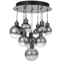 Quoizel PCSH1614BCH Shadow LED 14 inch Black Chrome Flush Mount Ceiling Light