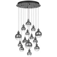Quoizel PCSH2818BCH Shadow LED 19 inch Black Chrome Pendant Ceiling Light