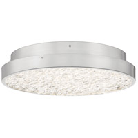 Quoizel PCSI1616BN Sunrise LED 16 inch Brushed Nickel Semi-Flush Mount Ceiling Light