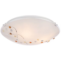 Platinum 3 Light 16 inch Polished Chrome Flush Mount Ceiling Light