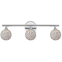 Quoizel Platinum Shimmer 3 Light Bath Light in Polished Chrome PCSR8603C