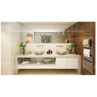 Quoizel Platinum Shimmer 3 Light Bath Light In Polished Chrome PCSR8603C  Alternative Photo Thumbnail