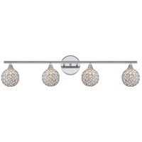 Quoizel Platinum Shimmer 4 Light Bath Light in Polished Chrome PCSR8604C