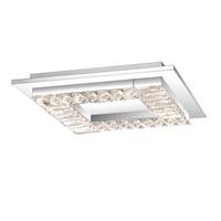 Quoizel PCSS1616C Passion LED 16 inch Polished Chrome Flush Mount Ceiling Light