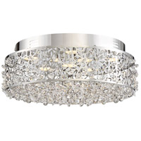 Platinum Starlet LED 14 inch Polished Chrome Flush Mount Ceiling Light