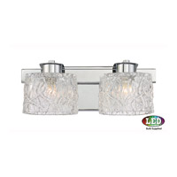 Platinum Seaview LED 14 inch Polished Chrome Bath Light Wall Light