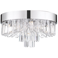 Quoizel PCVE1616C Platinum Venus 5 Light 16 inch Polished Chrome Flush Mount Ceiling Light