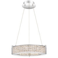 Quoizel PCVU2819C Virtue LED 19 inch Polished Chrome Pendant Ceiling Light