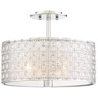 Quoizel PCVY1714C Platinum Verity 3 Light 15 inch Polished Chrome Semi-Flush Mount Ceiling Light