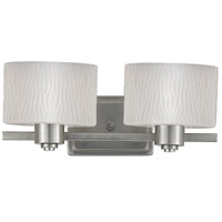 Pacifica 2 Light 16 inch Empire Silver Bath Light Wall Light