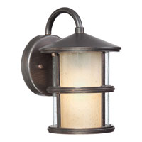 Quoizel Lighting Phillip 1 Light Outdoor Wall Lantern in Espresso PHP0693A