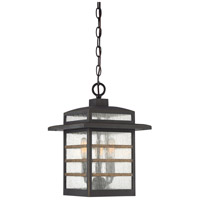 Quoizel PLA1910PN Plaza 3 Light 10 inch Palladian Bronze Outdoor Hanging Lantern