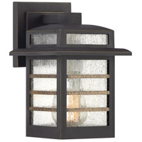 Plaza 1 Light 9 inch Palladian Bronze Outdoor Wall Lantern