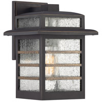 Quoizel PLA8408PN Plaza 1 Light 12 inch Palladian Bronze Outdoor Wall Lantern