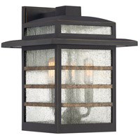 Quoizel PLA8410PN Plaza 3 Light 13 inch Palladian Bronze Outdoor Wall Lantern