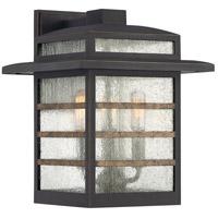 Quoizel PLA8410PN Plaza 3 Light 13 inch Palladian Bronze Outdoor Wall Lantern
