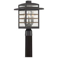 Plaza 3 Light 16 inch Palladian Bronze Outdoor Post Lantern