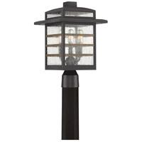 Quoizel PLA9010PN Plaza 3 Light 16 inch Palladian Bronze Outdoor Post Lantern