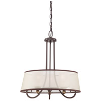 Palmer 3 Light 20 inch Palladian Bronze Pendant Ceiling Light