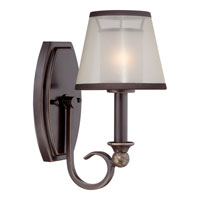 Quoizel Lighting Palmer 1 Light Wall Sconce in Palladian Bronze PLR8701PN
