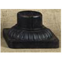 Pier Mounting 6 inch Mystic Black Pier and Post Accessory