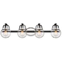 Quoizel PMT8604EK Piermont 4 Light 33 inch Earth Black Bath Light Wall Light