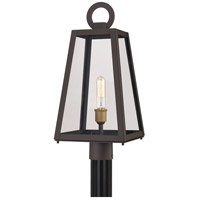 Quoizel PPT9010OZ Poplar Point 1 Light 22 inch Old Bronze Outdoor Post Lantern photo thumbnail