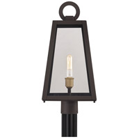 Quoizel PPT9010OZ Poplar Point 1 Light 22 inch Old Bronze Outdoor Post Lantern alternative photo thumbnail