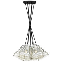 Prophecy 7 Light 18 inch Earth Black Pendant Ceiling Light
