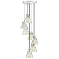Quoizel PPY2707C Prophecy 7 Light 18 inch Polished Chrome Pendant Ceiling Light