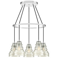 Quoizel PPY5005C Prophecy 5 Light 25 inch Polished Chrome Chandelier Ceiling Light
