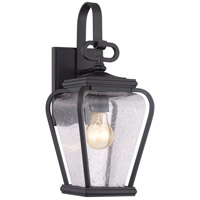 Quoizel PRV8406K Province 1 Light 16 inch Mystic Black Outdoor Wall Lantern in Standard