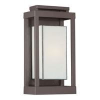 Quoizel PWL8307WT Powell 1 Light 14 inch Western Bronze Outdoor Wall Lantern alternative photo thumbnail