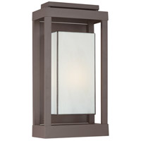 Quoizel PWL8311WT Powell 1 Light 21 inch Western Bronze Outdoor Wall Lantern