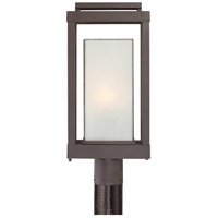 Quoizel Lighting Powell 1 Light Outdoor Post Lantern in Western Bronze PWL9009WT