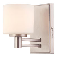 Quoizel Lighting Perry 1 Light Bath Vanity in Antique Nickel PY8601AN alternative photo thumbnail