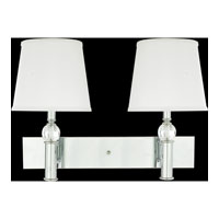 Quoizel Lighting Portable Lamp 2 Light Portable Wall Lights in Polished Chrome Q1069C photo thumbnail