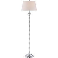 Quoizel Signature 1 Light Floor Lamp in Polished Chrome Q1864FC
