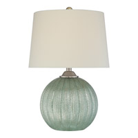 Quoizel Signature 1 Light Table Lamp in Green Q2316T