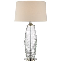 Quoizel Signature 1 Light Table Lamp in Brushed Nickel Q2596TBN