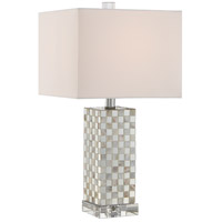 Quoizel Signature 1 Light Table Lamp in Polished Chrome Q2610T