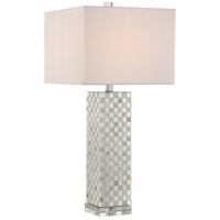 Quoizel Signature 1 Light Table Lamp in Polished Chrome Q2611T