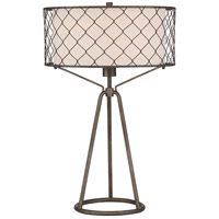 Quoizel Q3323T Signature 26 inch 150 watt Table Lamp Portable Light