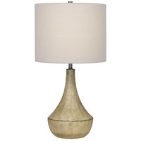 Quoizel Q4065T Rockville 23 inch 100 watt Whitewash Table Lamp Portable Light