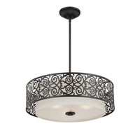 Quoizel Lighting Signature 3 Light Pendant in Imperial Bronze QF1208CIB alternative photo thumbnail